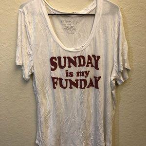Sunday Is My Funday Shirt Tee